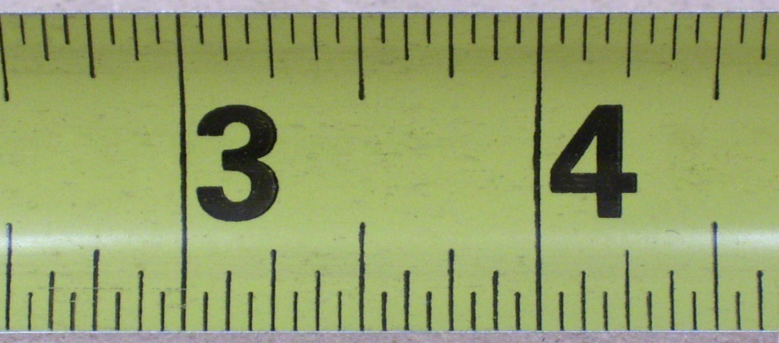 what is 21/32 on a ruler
