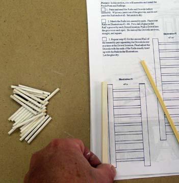 shipwreck rails set assembly instructions