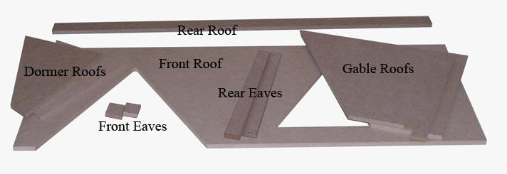 The Roofs are 1/4